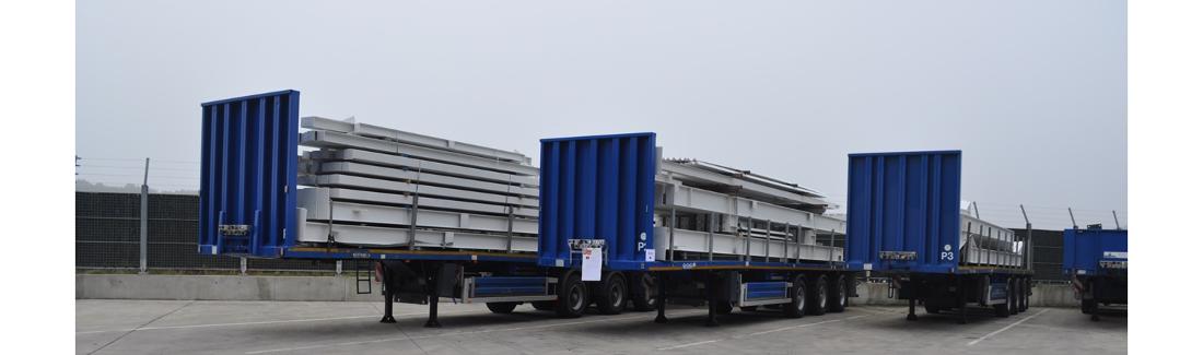 Goederen veilig laden en vervoeren, op maat van de klant, aangepast aan hun specifieke goederen en laadsystemen