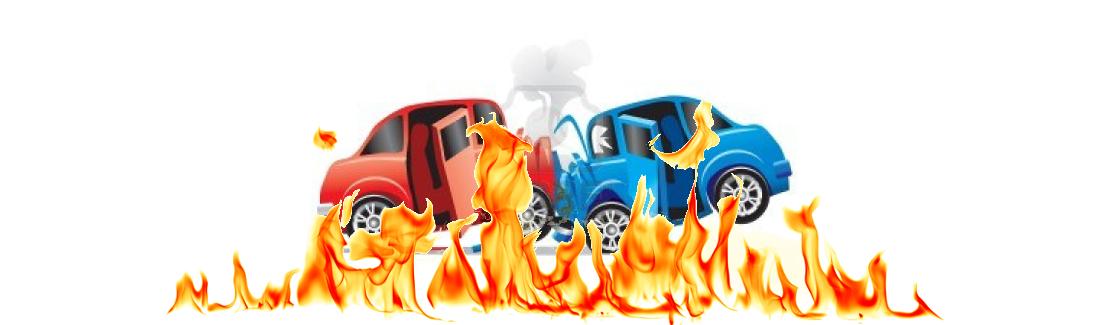 Ongevallen met brand